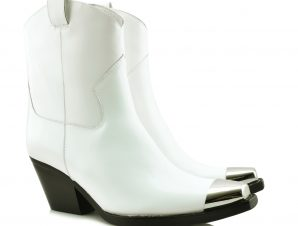 JEFFREY CAMPBELL DEFENCE MT BOOTS – 0101002548 WHITE
