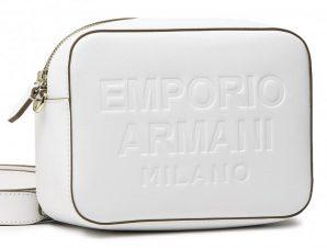 EMPORIO ARMANI Τσάντα γυναικεία Y3B162Y267A-80012 ΑΣΠΡΟ
