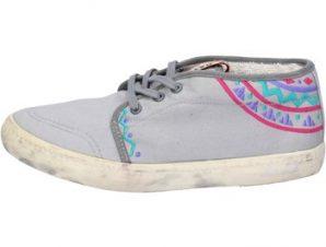 Xαμηλά Sneakers Date sneakers grigio tessuto AP518