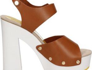 Σανδάλια Suky Brand sandali marrone pelle AC483