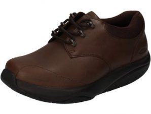 Xαμηλά Sneakers Mbt sneakers marrone pelle tessuto dynamic AB448