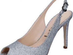 Σανδάλια Capitini sandali argento glitter BZ492