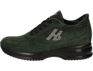 Xαμηλά Sneakers Hornet Botticelli sneakers verde camoscio AE309
