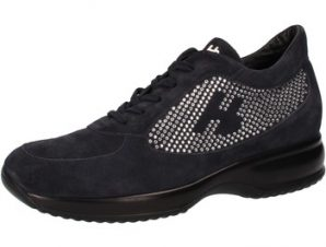 Xαμηλά Sneakers Hornet Botticelli sneakers blu camoscio strass AE311