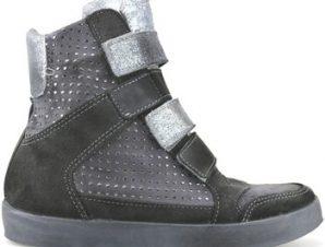Ψηλά Sneakers Beverly Hills Polo Club POLO zeppe grigio camoscio AJ15