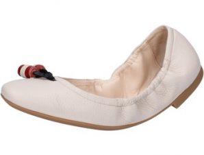 Μπαλαρίνες Bally Shoes ballerine beige pelle BY32