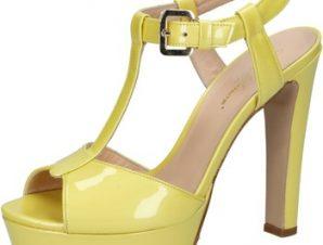 Σανδάλια Mi Amor sandali giallo vernice BY164