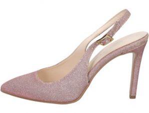 Σανδάλια Olga Rubini sandali rosa tessuto BY284