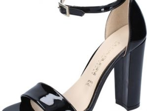 Σανδάλια Olga Rubini sandali nero vernice BY300