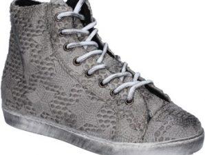 Ψηλά Sneakers Mancapane sneakers grigio tessuto BX169