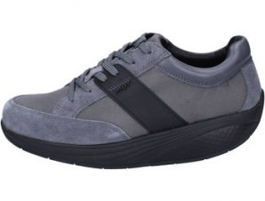 Xαμηλά Sneakers Mbt sneakers grigio tessuto camoscio performance BT41