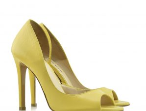 """ARIS TSOUBOS"" DESIGNER YELLOW LEATHER – 9755 YELLOW"