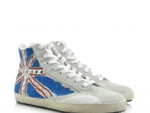 CULT FLAG SUEDE WHITE – CLE 101482