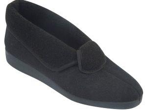 ANTRIN Γυναικεία Παντόφλα 3Γ Μαύρο – Μαύρο – 3Γ BLACK black 36/4/1/81