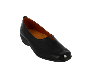ANTRIN Γυναικείο Comfort Μοκασίνι 80.81 Μαύρο – Μαύρο – 80.81 BLACK-black-36/4/1/81