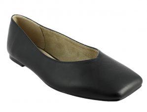 IQSHOES 107.C1100 Μπαλαρίνα Γυναικεία Μαύρη – Μαύρο – 107.C1100black-black-36/4/1/81