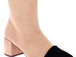 CORINA Γυναικείο Μποτάκι 18.107.8856 Μαύρο/ροζ – Ροζ – 18.107.8856 NEGRO/NUDE-pink-36/4/12/81