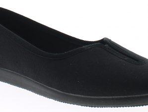 ANTRIN Γυναικεία Παντόφλα 35 Μαύρο – Μαύρο – 35 BLACK-black-35/4/1/67