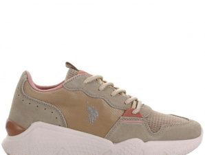 US POLO WILLOW Sneaker 36-41 – Μπεζ – US4144S0MS1/03/2/4/81